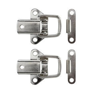 Image of Nickel-plated Carbon steel Toggle catch Pack of 2