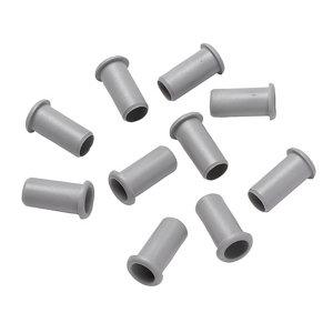 Image of Plumbsure Grey Plastic Push-fit Pipe insert (Dia)15mm Pack of 10
