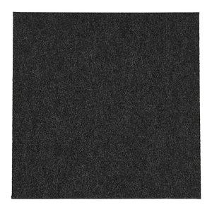 Colours Grey Loop Carpet tile  (L)500mm  Pack of 10