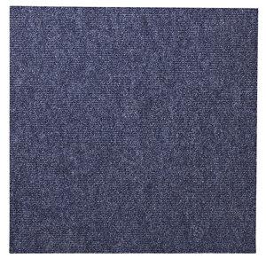 Colours Blue Loop Carpet tile  (L)500mm  Pack of 10