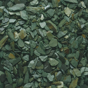 Blooma Green 20mm Slate Decorative chippings  Large Bag