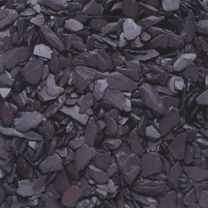 Blooma Blue 20mm Slate Decorative chippings  Large Bag