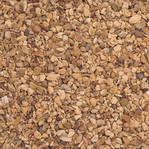 Blooma Golden brown Decorative stones  Large Bag