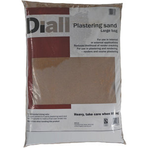 Image of Diall Plastering sand Large Bag