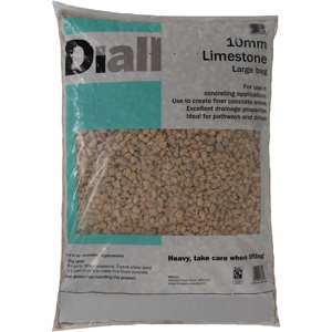 Image of Diall 10mm Limestone Chippings Large Bag