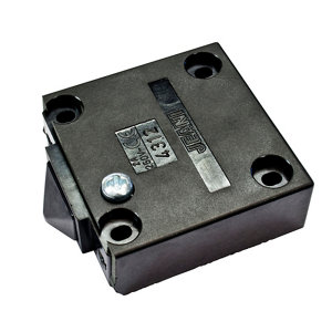 Image of B&Q 2A Black Door operated Control switch