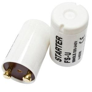 B&Q White Starter Switch  Pack of 2