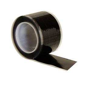 Image of B&Q Black Self-amalgamating Tape (L)3m (W)25.4mm