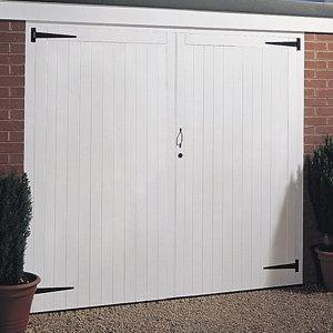 Side hung Garage door pair  (H)1981mm (W)2134mm