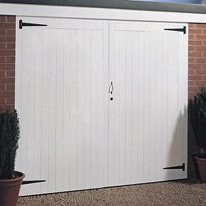 Image of Side hung Garage door pair (H)2134mm (W)2134mm