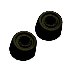 Image of Black Rubber Door stop Pack of 2