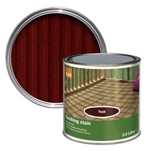 Colours Teak Matt Decking Wood stain  2.5L