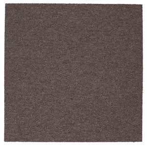 Image of Colours Brown Loop Carpet tile (L)500mm