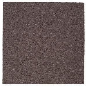 Colours Brown Loop Carpet tile  (L)500mm