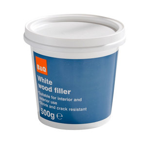 Diall White Ready mixed Wood Filler 500g