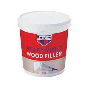 Bartoline White Ready mixed Wood Filler 1kg