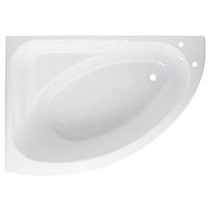 Image of Cooke & Lewis Strand Acrylic Left-handed Corner Bath (L)1495mm (W)1060mm