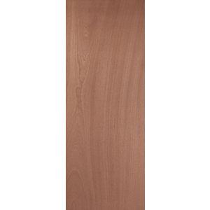 Image of Flush Ply veneer LH & RH Internal Door (H)1981mm (W)610mm