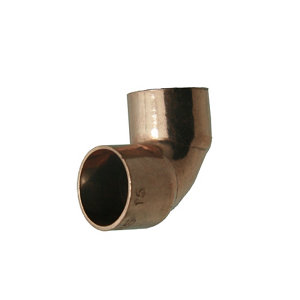 Image of End feed 90° Pipe elbow (Dia)15mm Pack of 20