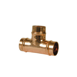 Image of Copper Solder ring Equal Tee (Dia)22mm