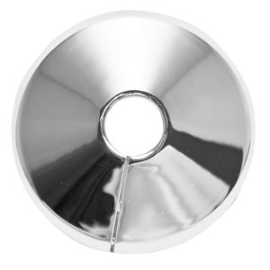 Image of Plumbsure M443CQV3 Plastic Chrome effect Pipe collar (Dia)10mm Pack of 5
