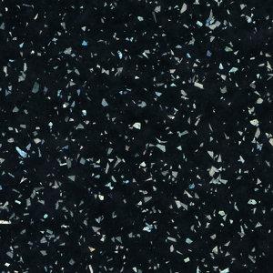 Cooke & Lewis 28mm Astral Gloss Black Laminate Bathroom Worktop  (L)2000mm