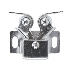 Image of Chrome-plated Carbon steel Double roller catch