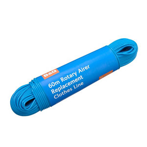 B&Q Blue Rotary airer Replacement washing line 60m