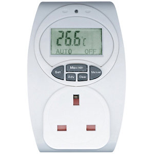 Image of 13A 1 gang Temperature controlled adaptor