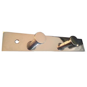 Polished & Contemporary Hook rail  (L)222mm (H)30mm