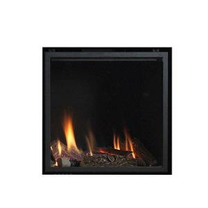 Image of Ignite Pinnacle 60 Black Gas Fire