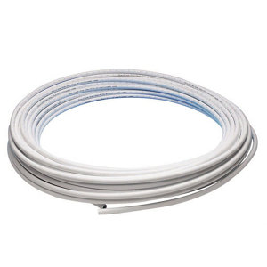 Image of JG Speedfit White PE-X Push-fit Barrier pipe (L)25m (Dia)15mm