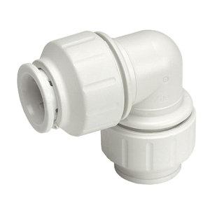 JG Speedfit Push-fit 90° Pipe elbow (Dia)15mm  Pack of 10