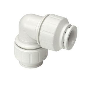 JG Speedfit Push-fit 90° Pipe elbow (Dia)22mm  Pack of 5