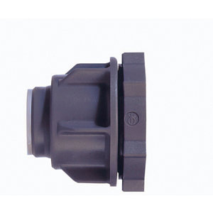 Image of JG Speedfit Push-fit Straight Tank connector (Dia)15mm