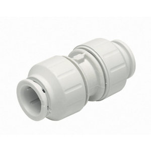 Image of JG Speedfit Push-fit Straight Coupler (Dia)10mm