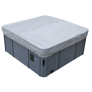 """Image of Canadian Spa Cover guard Compatible with spas sized 90"""" x 90"""" or less."""