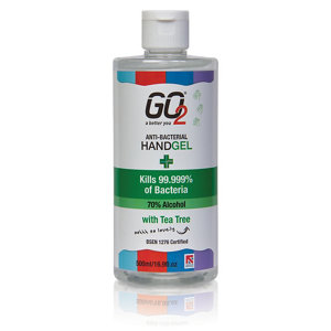 Image of GO2 Tea tree Anti-bacterial Hand gel 500ml