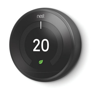 Image of Google Nest 3rd Generation Learning thermostat Black