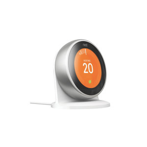 Image of Google Nest Generation 3 Learning thermostat Silver