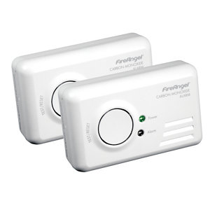 Image of FireAngel TCO-9BQ Wireless Carbon monoxide Alarm with 1-year battery Pack of 2