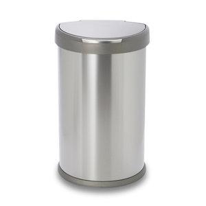 Simplehuman Brushed Stainless steel Freestanding Kitchen Bin  45L