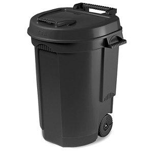 Black Outdoor litter bin