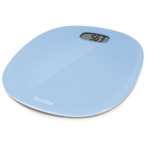 Image of Terraillon Blue Bathroom scales