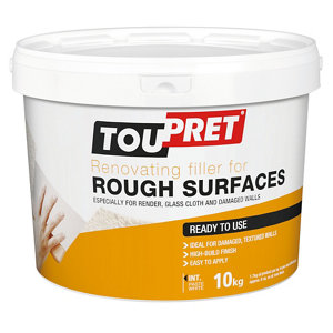 Toupret Rough Surface Ready mixed Finishing plaster  10kg Tub