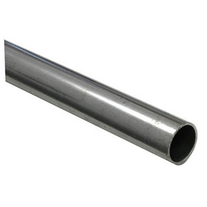Varnished Cold-pressed steel Round Tube  (L)1m (Dia)10mm
