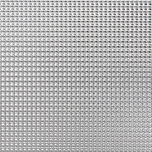 Image of FFA Concept Silver effect Aluminium Textured Sheet (H)500mm (W)500mm (T)1mm