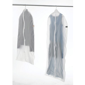 Image of Compactor Home Translucent Dress Bag (H)1370mm (W)600mm (D)20mm
