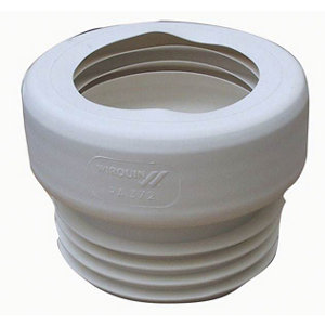 Wirquin Push-fit Straight Pan connector (Dia)110mm