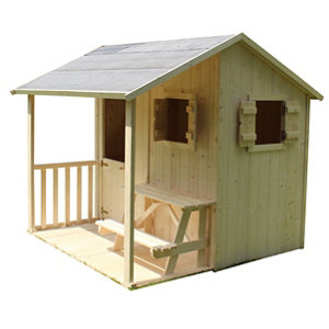 Image of Soulet Wakame Wooden Playhouse